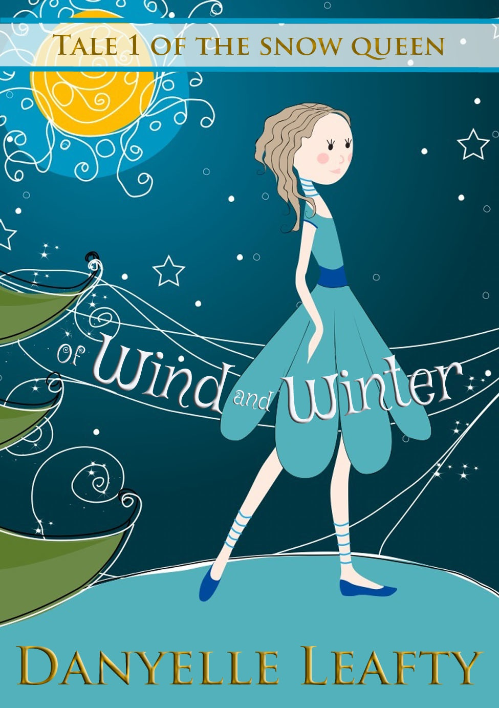 Of Wind and Winter by Danyelle Leafty - book review - MySF Reviews