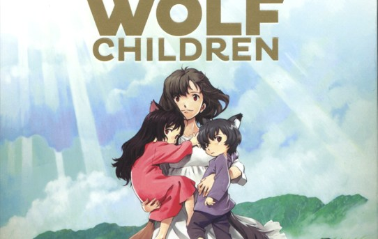 "Cover of the ""Wolf Children"" blu-ray release."