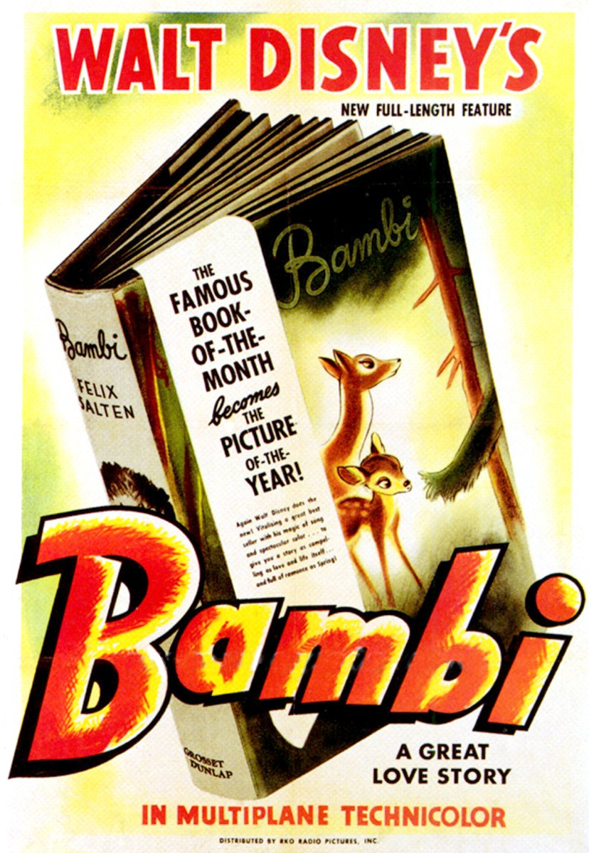 Walt Disney's Bambi - animated film review