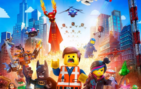 "Theatrical teaser poster for ""The LEGO Movie""."