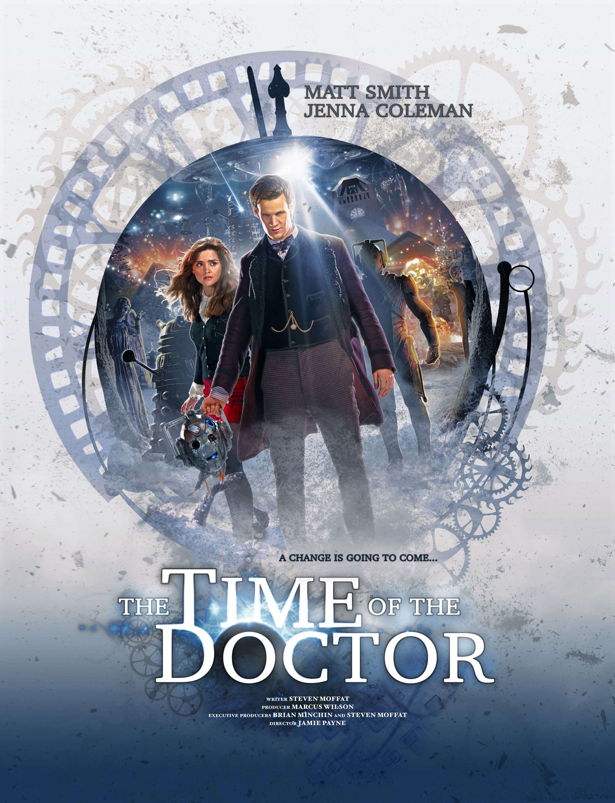 """The Time of the Doctor"" poster."