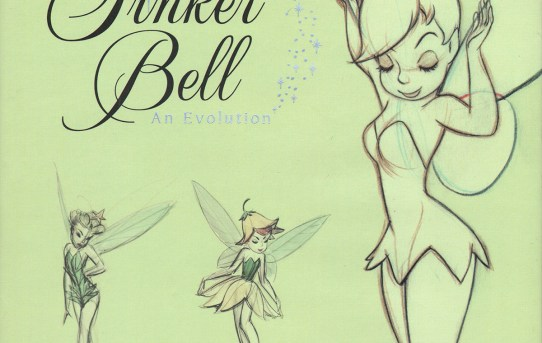 Tinker Bell - An Evolution by Mindy Johnson - art book review