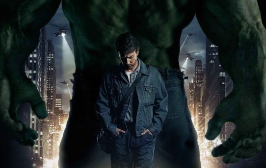 """The Incredible Hulk"" theatrical poster."
