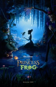 """Theatrical teaser poster for """"The Princess and the Frog""""."""