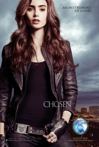 """The Mortal Instruments: City of Bones"" poster."