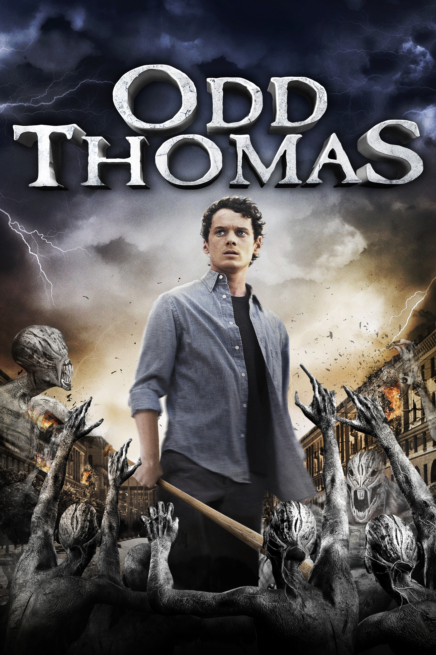 """Odd Thomas"" theatrical poster."
