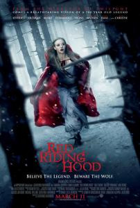 """Red Riding Hood"" theatrical teaser poster."
