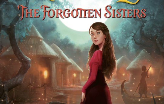 """Princess Academy - The Forgotten Sisters"" by Shannon Hale."