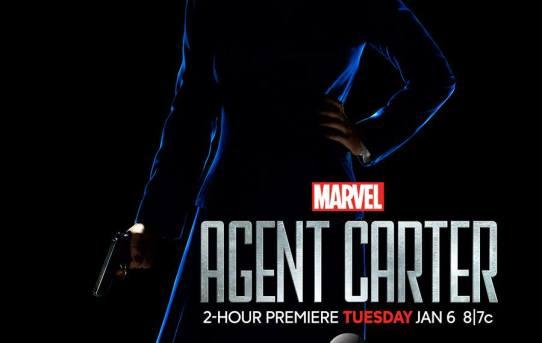 """Agent Carter"" teaser poster."