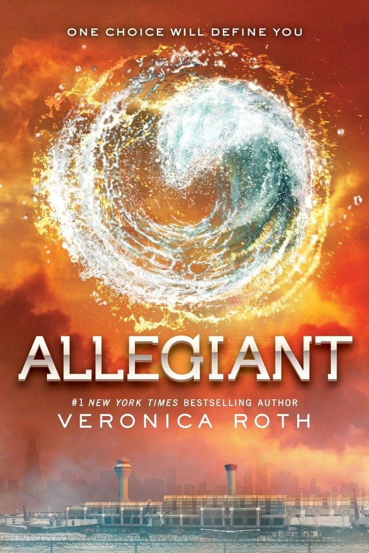 """Allegiant"" by Veronica Roth."