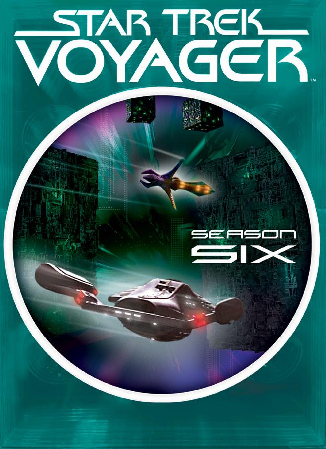 """Star Trek Voyager"" - season 6."