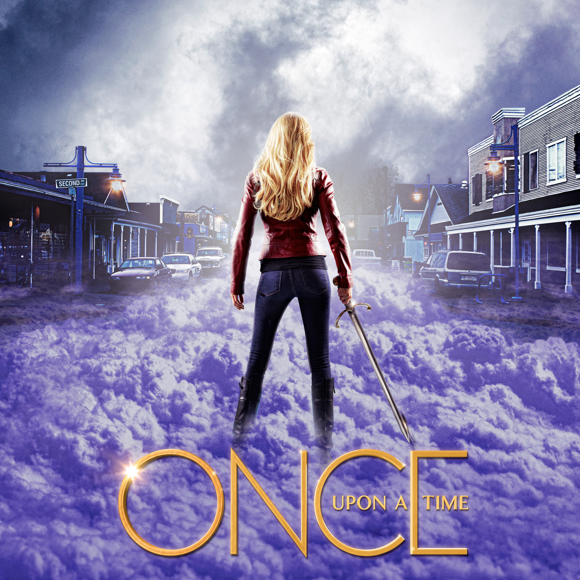 """Once Upon a Time"" Season Two promo poster."