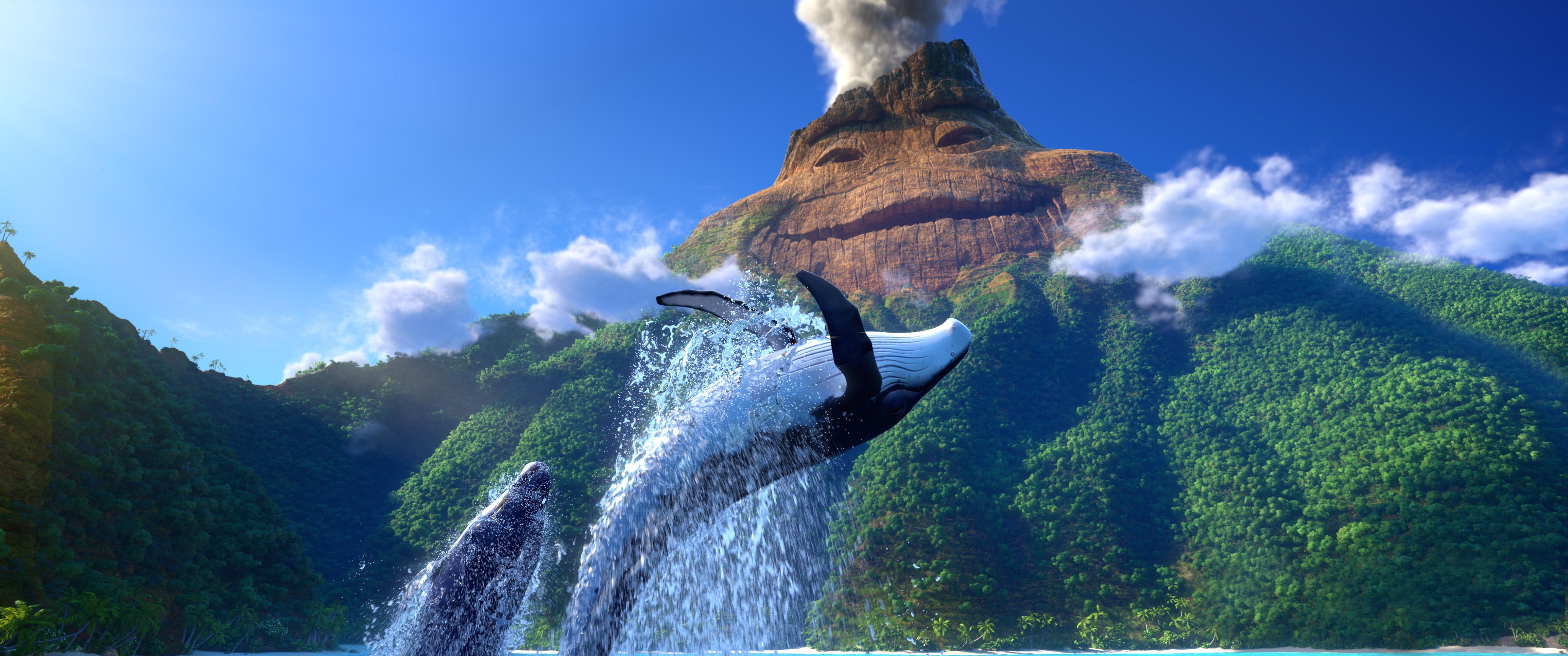 "A scene from Pixar's ""Lava""."