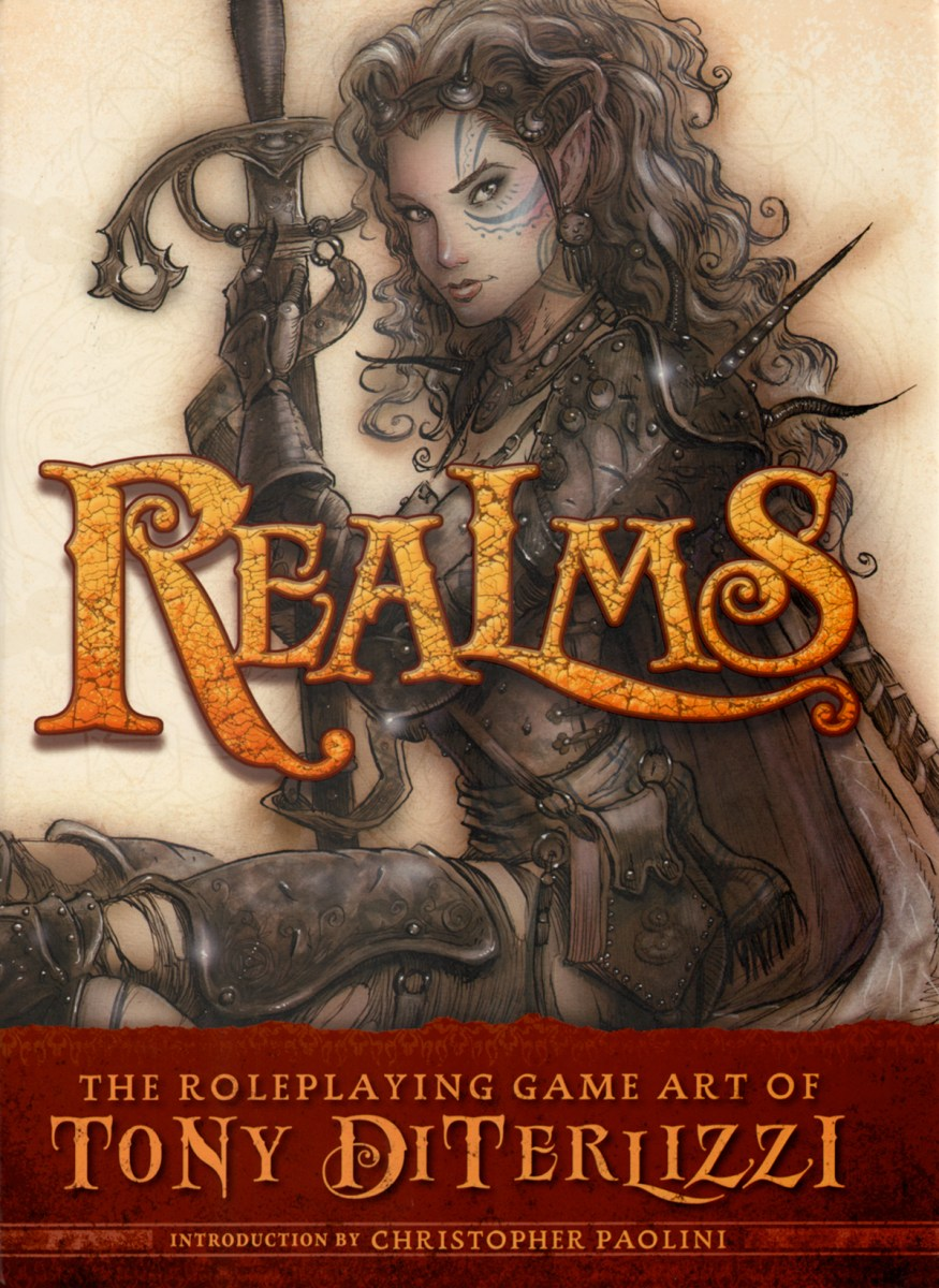 Realms - The Roleplaying Game Art of Tony DiTerlizzi - art book review