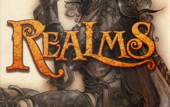 """Realms - The Roleplaying Game Art of Tony DiTerlizzi""."
