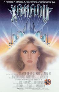"""Xanadu"" theatrical poster."