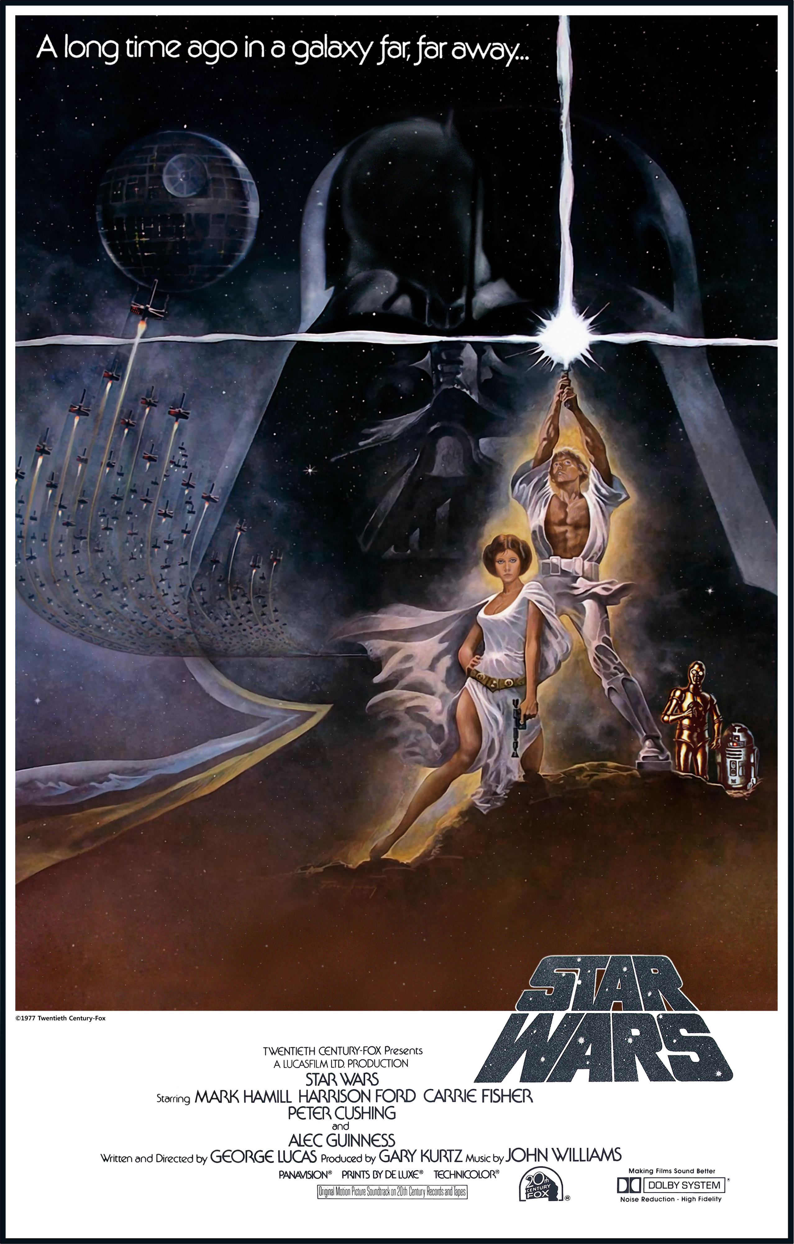 """""""Star Wars"""" 1977 theatrical poster."""