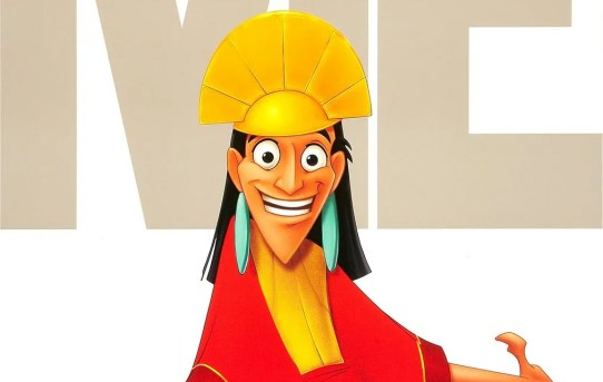"""""""The Emperor's New Groove"""" theatrical teaser poster."""