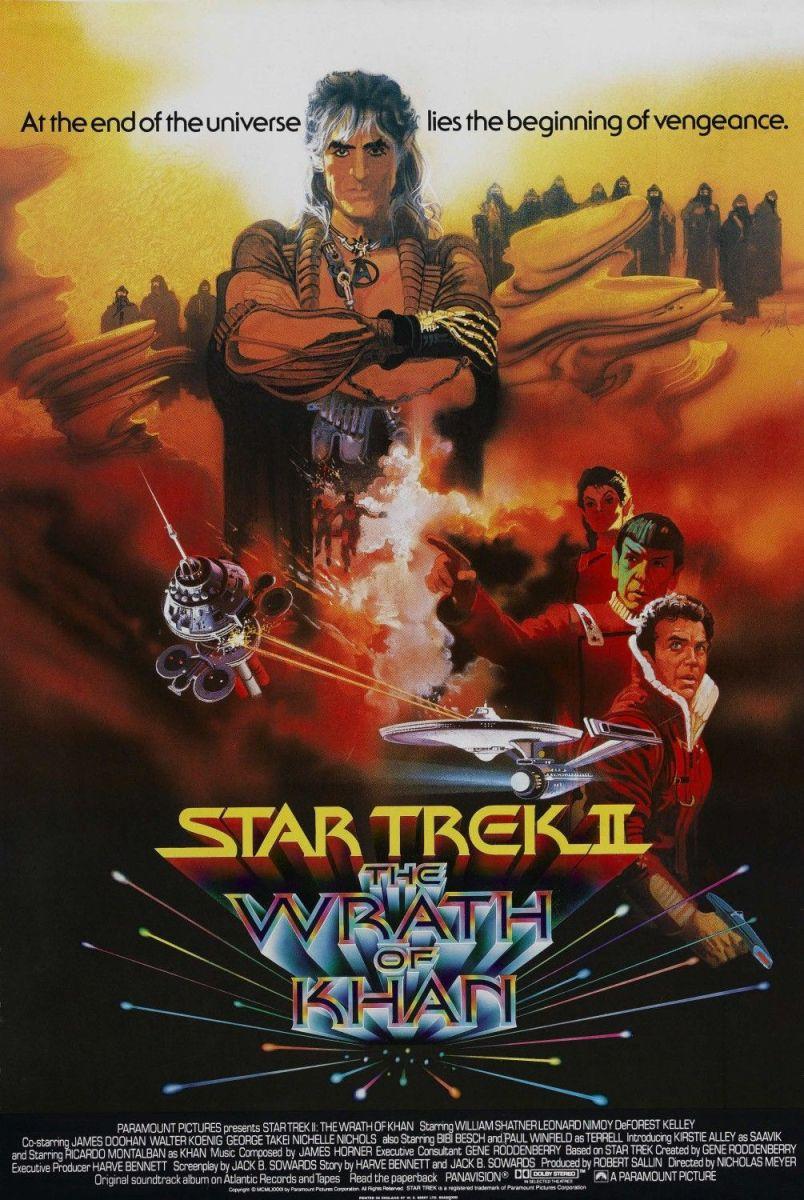 Star Trek II The Wrath of Khan - film review