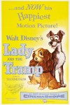 """Lady and the Tramp"" original theatrical teaser poster."
