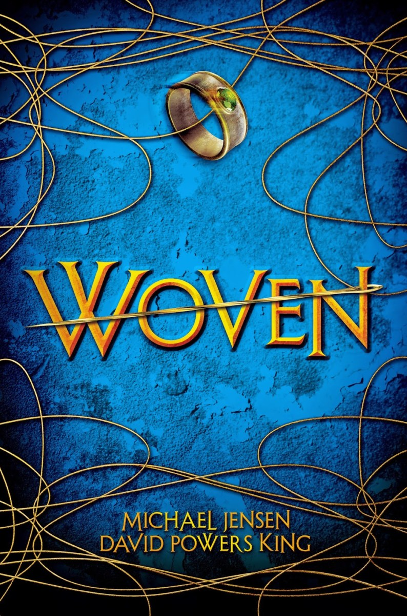 Woven by Michael Jensen and David Powers King - book review