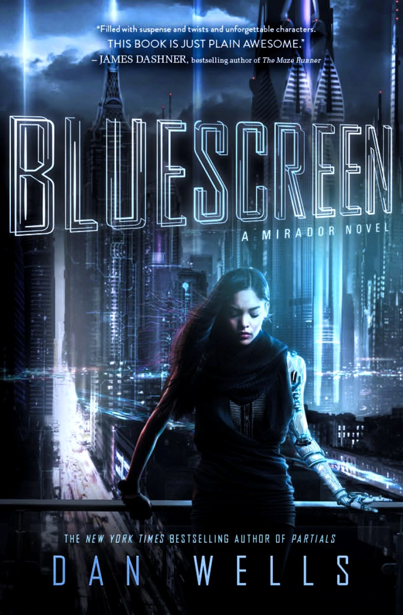 Bluescreen by Dan Wells - book review