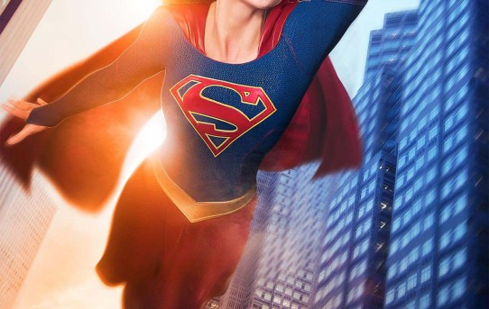 """Supergirl"" 2015 television series poster."