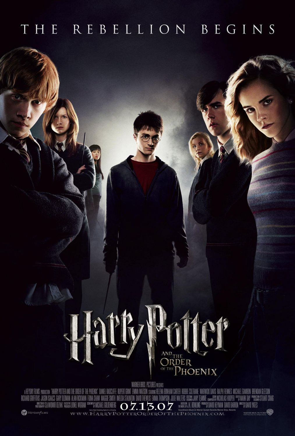 """Harry Potter and the Order of the Phoenix"" theatrical teaser poster."