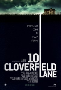 """10 Cloverfield Lane"" theatrical teaser poster."