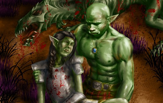Blood Oath - An Orc Love Story by Sarah E. Seeley - short fiction review