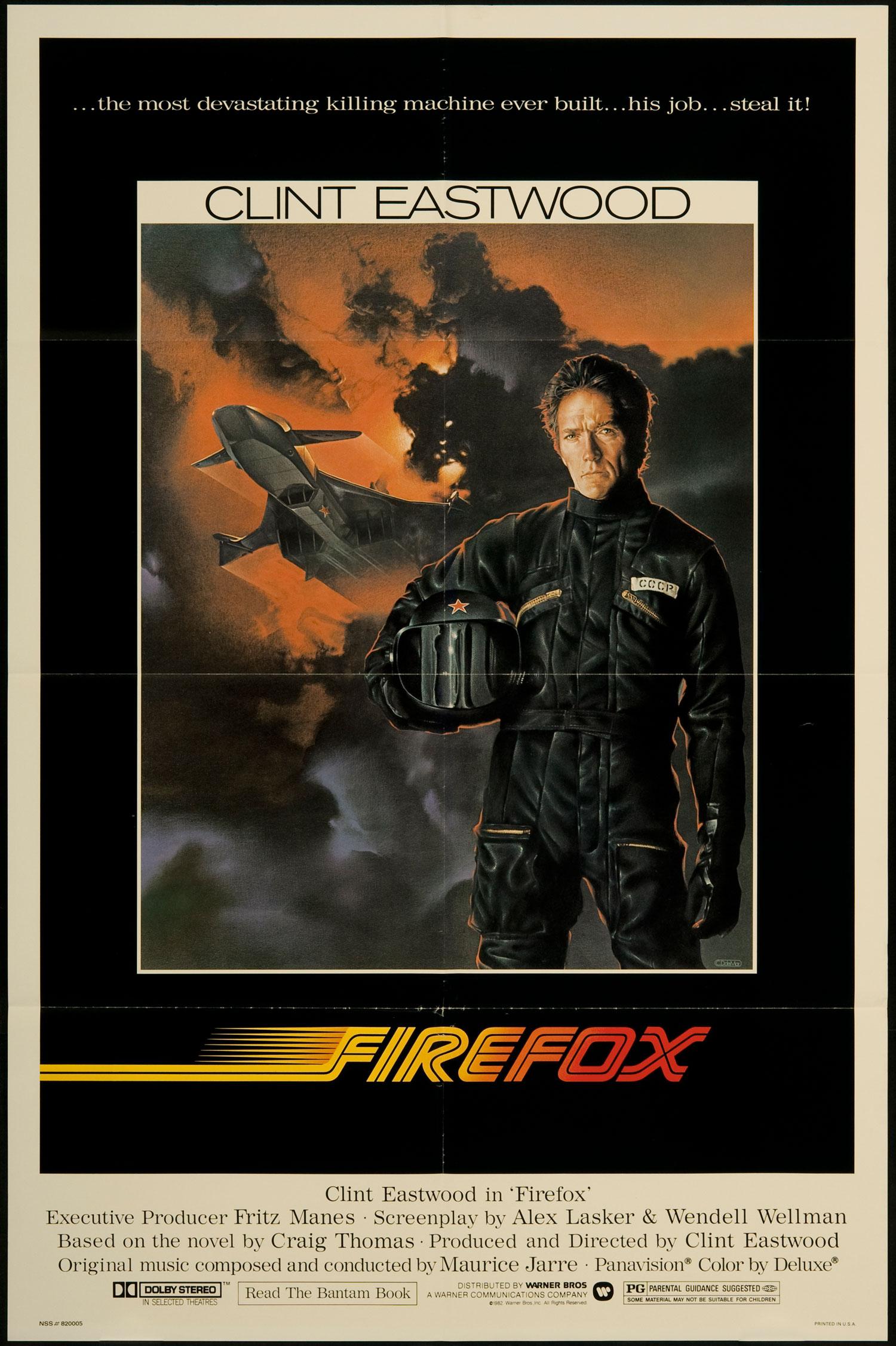 """Firefox"" film poster."