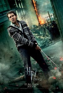 """Harry Potter and the Deathly Hallows part 2"" theatrical teaser poster featuring Neville Longbottom."