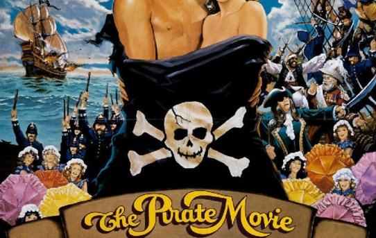 """The Pirate Movie"" theatrical teaser poster."
