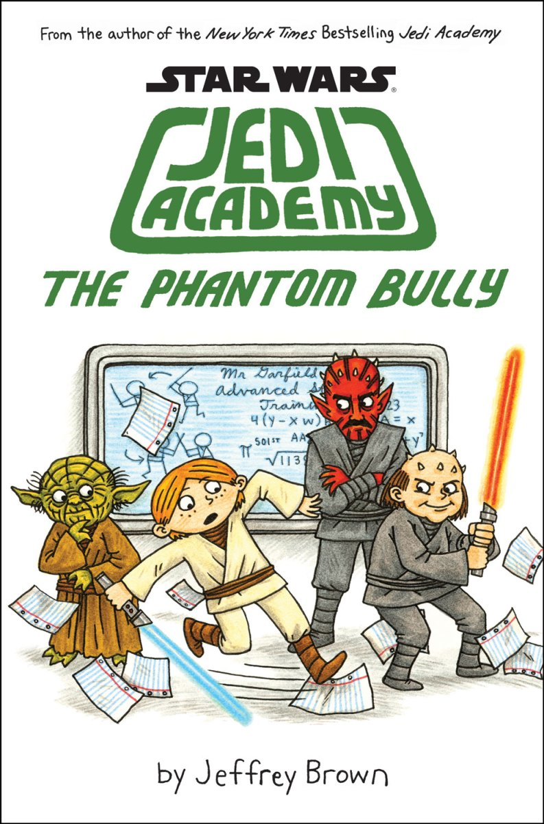Star Wars Jedi Academy - The Phantom Bully by Jeffrey Brown - graphic novel review