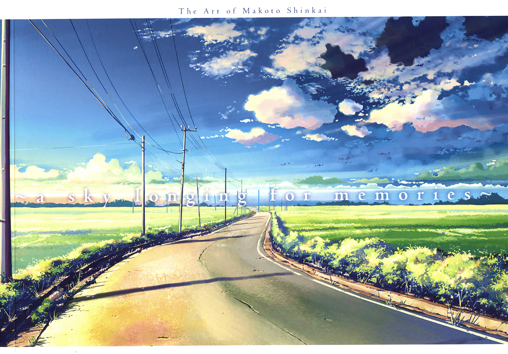 """The Art of Makoto Shinkai""."