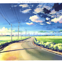 The Art of Makoto Shinkai - A Sky Longing for Memories - art book review
