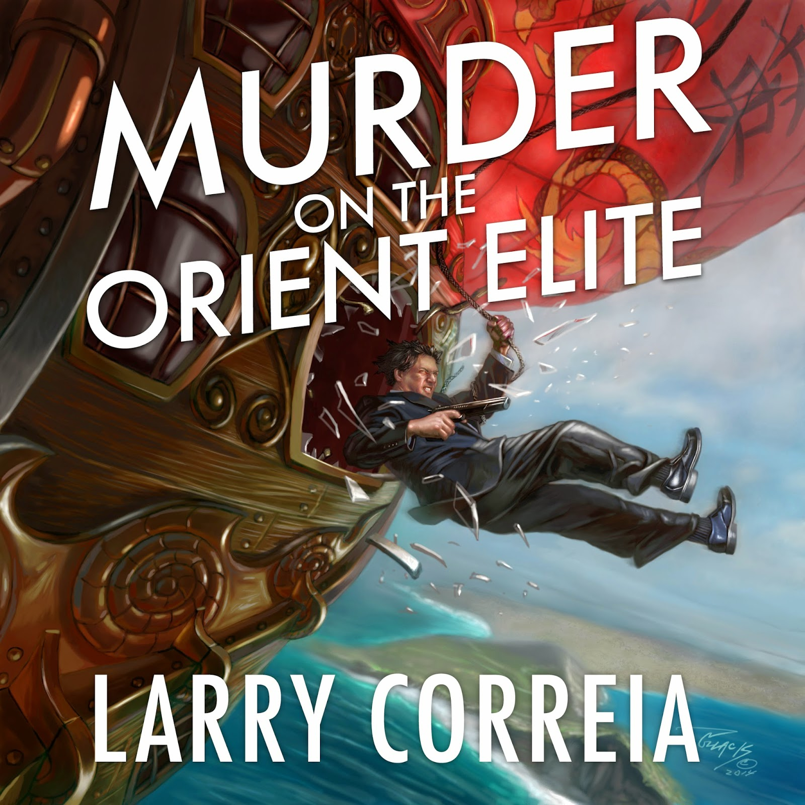 """Murder on the Orient Elite"" by Larry Correia audiobook."