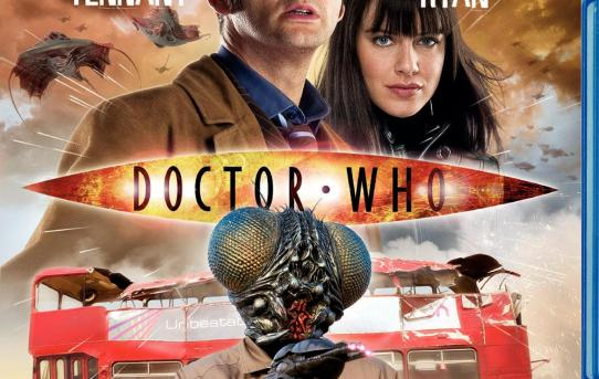 """Doctor Who - Planet of the Dead"" bluray."