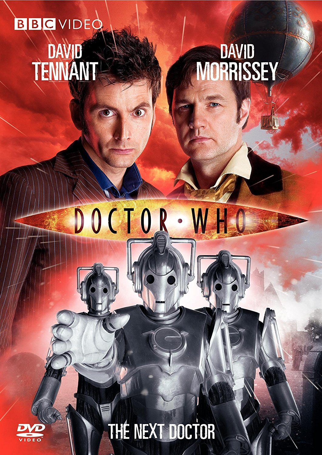 """""""Doctor Who - The Next Doctor"""" DVD cover."""
