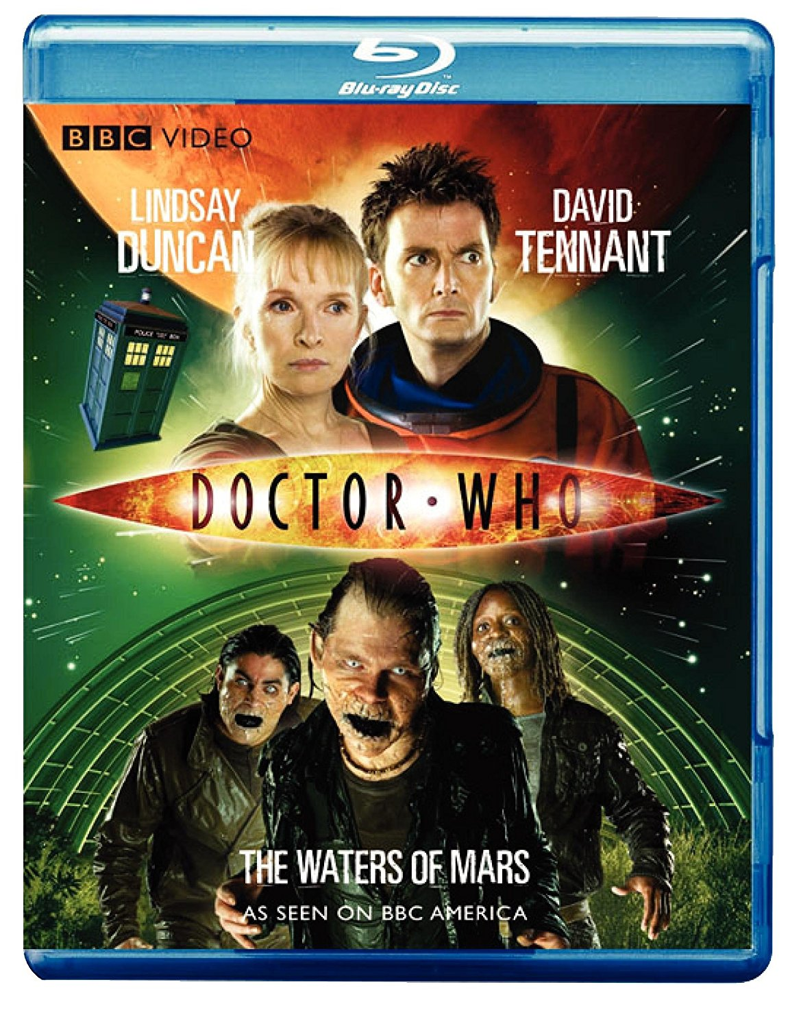 """Doctor Who - The Waters of Mars"" bluray."