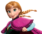"Anna from ""Frozen""."