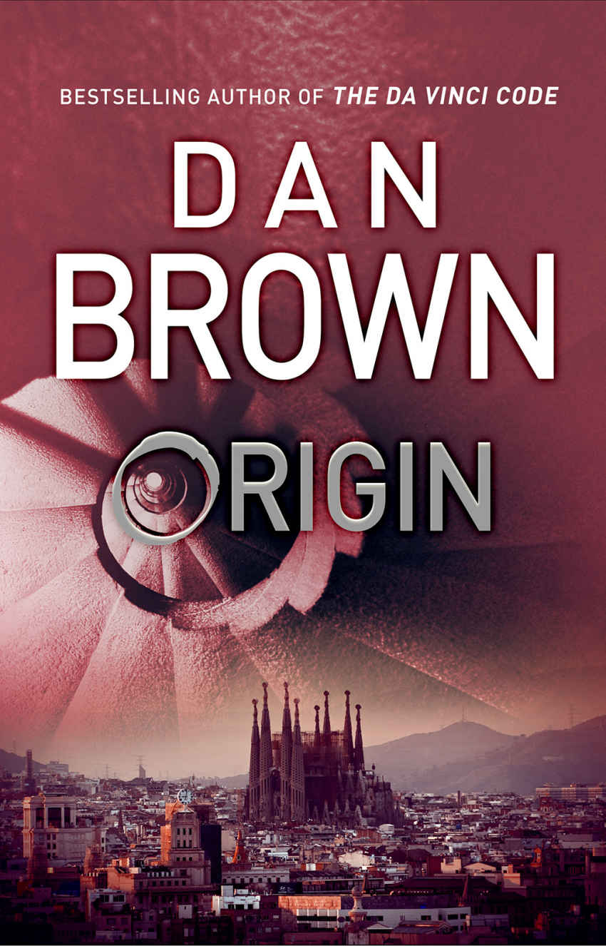 """Origin"" by Dan Brown - UK hardcover."
