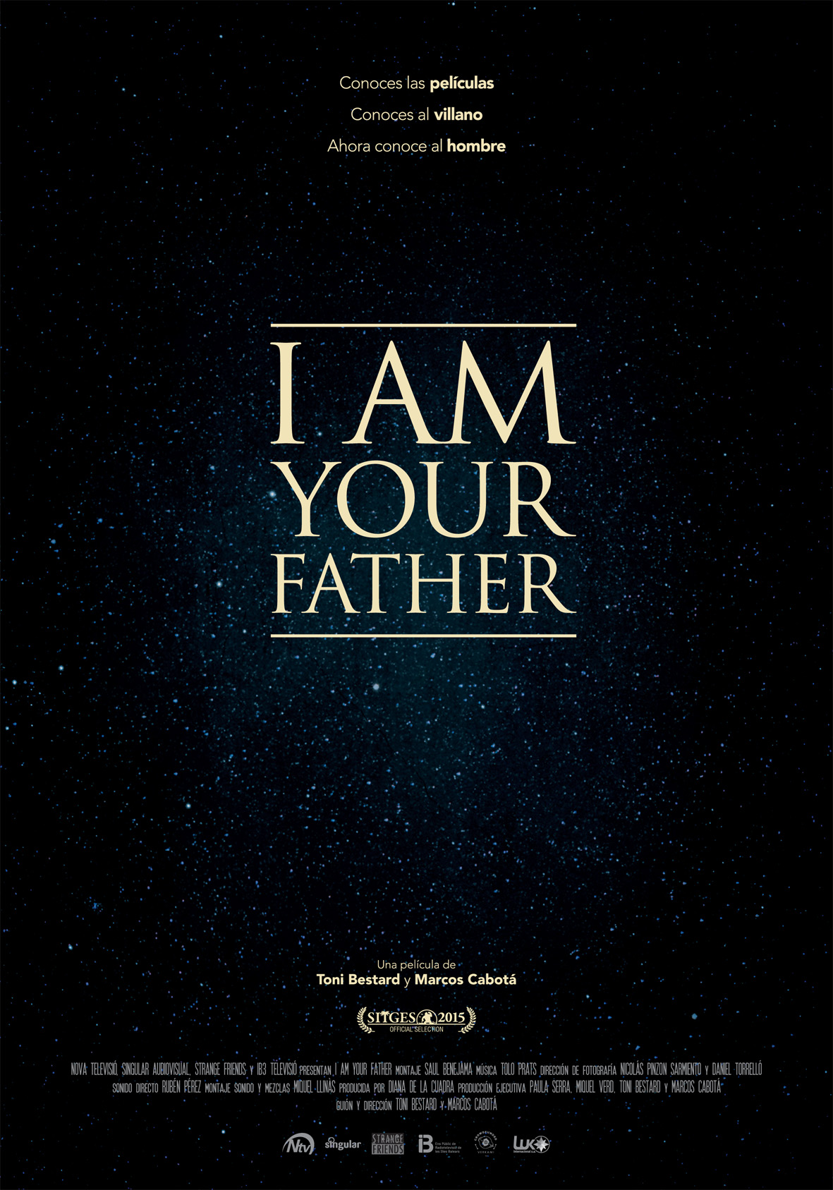 """I Am Your Father"" poster."