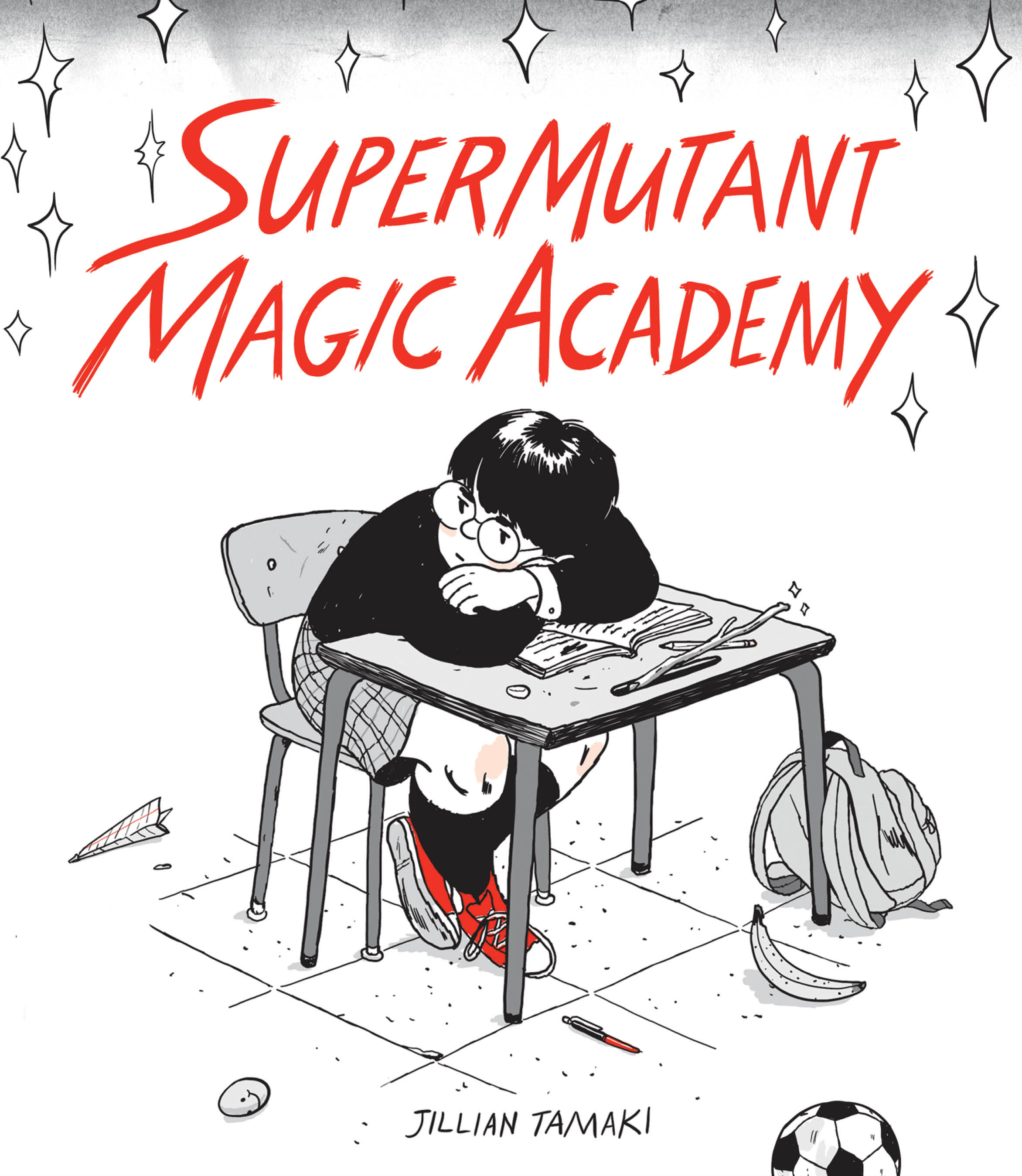 """SuperMutant Magic Academy"" by Jillian Tamaki."