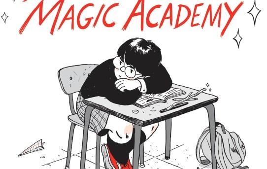 """SuperMutant Magic Academy"" by Jillian Tamaki."