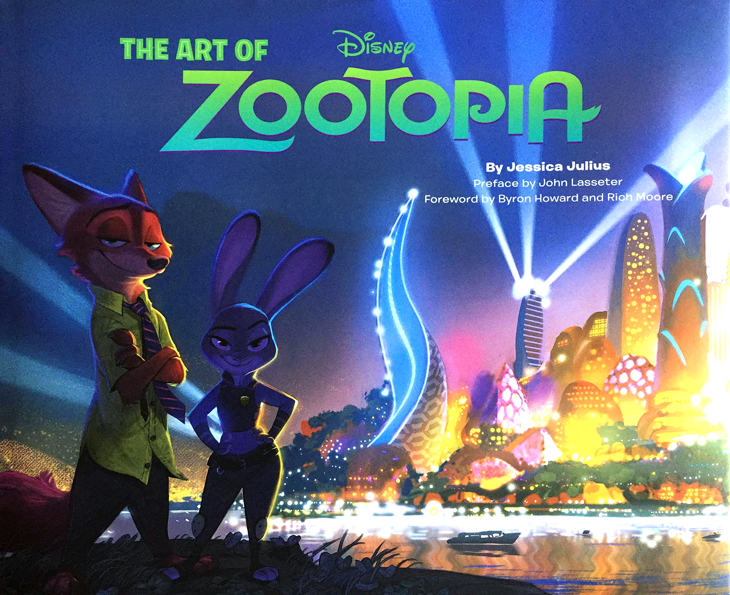 """The Art of Zootopia"" by Jessica Julius."