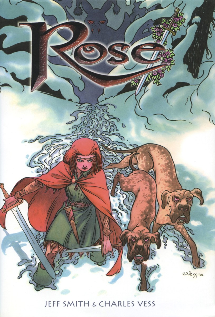 Rose by Jeff Smith and Charles Vess - graphic novel review