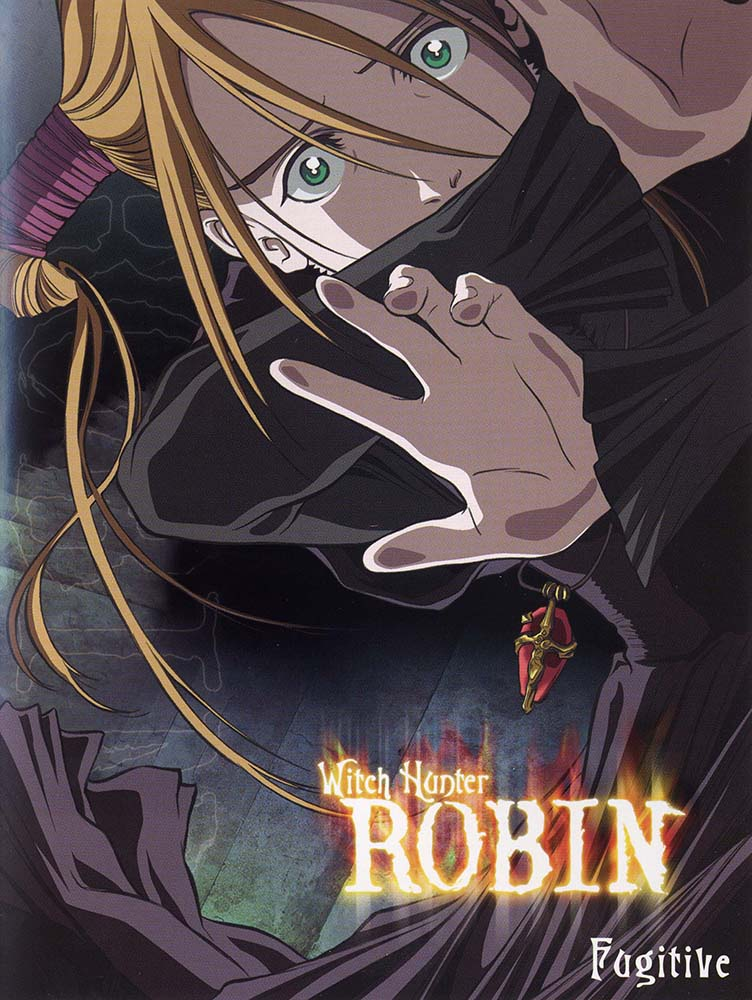 "Cover of ""Witch Hunter Robin - Fugitive"" DVD."
