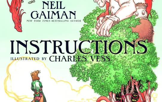 Instructions by Neil Gaiman - picture book review