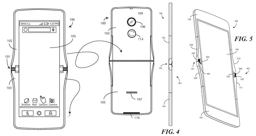 Smartphone pliable Motorola : RAZR